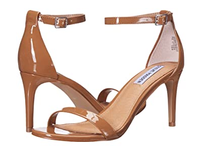 Steve Madden Exclusive Stecia Heeled Sandal (Camel Patent) Women