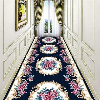 Filjr Tapis de Passage Couloir Cuisine Moderne Long 60x100cm Entree Interieur Antiderapant Motifs G/éom/étriques Tissu en Polyester 3 Couleurs 25 Tailles Disponibles Personnalisable