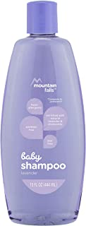 Mountain Falls Hypoallergenic Tear-Free Baby Shampoo, with Natural Lavender and Chamomile, Compare to Johnson's, 15 Fluid Ounce