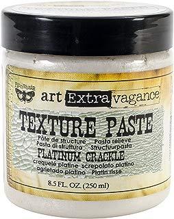 Prima Marketing Art Extravagance Texture Paste, 8.5-Ounce, Platinum Crackle