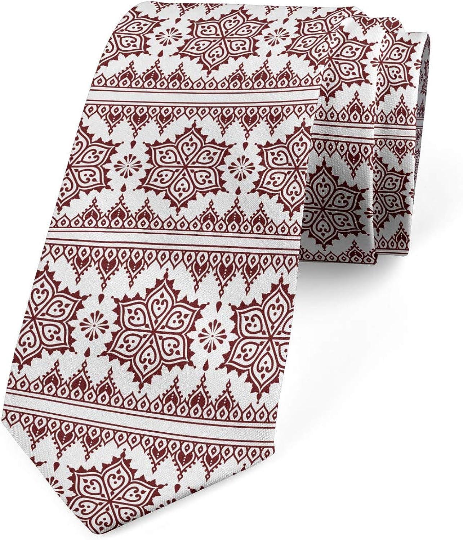 Ambesonne Necktie, Style Art, Dress Tie, 3.7