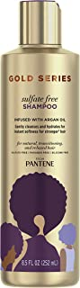 Gold Series, Argan Oil Shampoo, Sulfate Free, from Pantene Pro-V, for Natural and Curly..