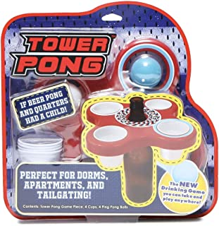Tower Pong- A Portable New Game You Can Take and Play at Your Next Tailgate or Cookout