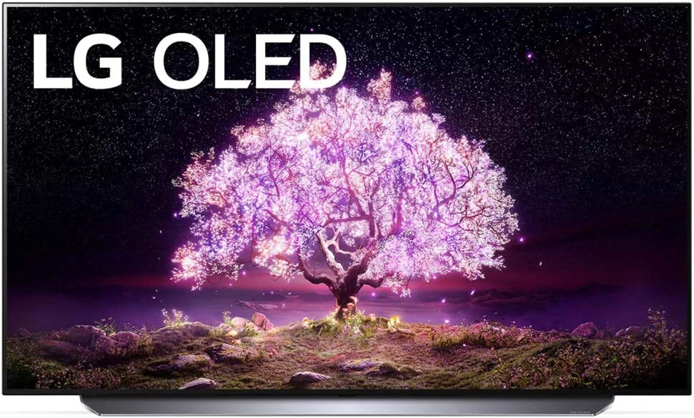 LG OLED77C1PUB 77 inches 4K Smart OLED TV.