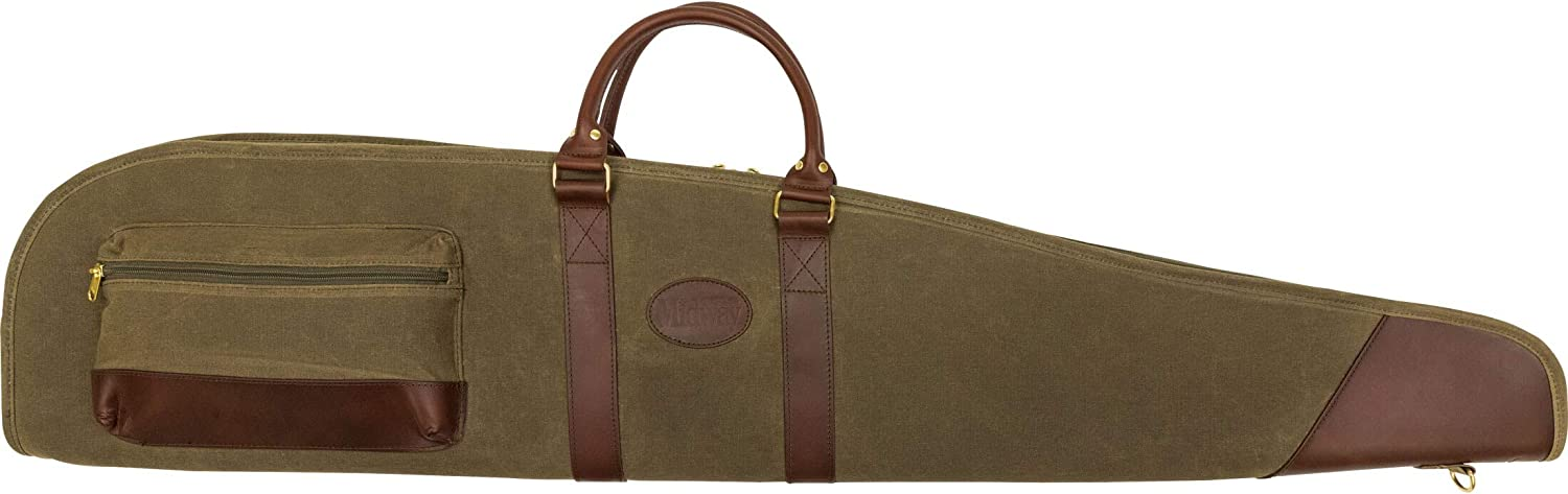 MidwayUSA Waxed Branded goods sale Canvas Rifle Scoped Case