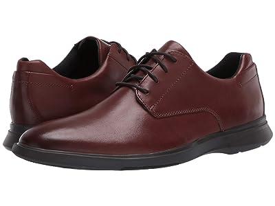 Clarks Un Lipari Park (Mahogany Leather) Men