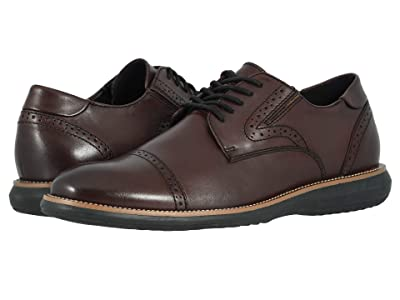 Dockers Beecham (Bordeaux Burnished Full Grain) Men