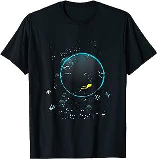 I love Scuba Dive deep water diving divers cool t-shirt