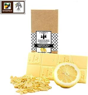 Chocolate blanco artesano con limón