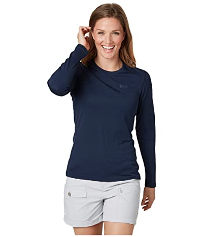 Helly Hansen Lifa Active Solen Long Sleeve (Navy) Women