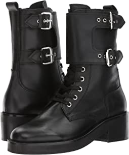 The Kooples - Leather Boots with Strap