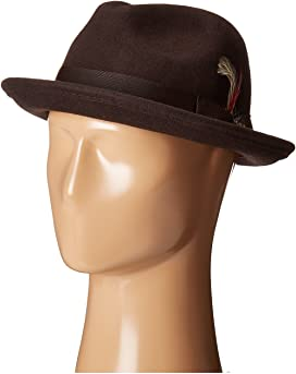 e97ad9479170b0 Country Gentleman Frederick Wide Brim Fedora Hat at Zappos.com