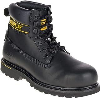 Caterpillar CAT Holton SB Black Steel Toe Cap Safety Boots