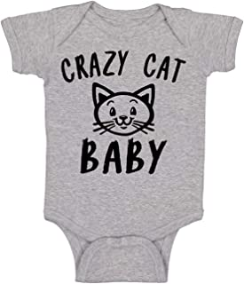 Cute Kitten Crazy Cat Baby - Funny Cute Infant Creeper, One-Piece Baby Bodysuit