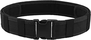 Police Security Tactical Combat Gear Utility Nylon Belt (Black)