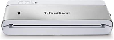 FoodSaver VS0160 Sealer PowerVac Compact Vacuum Sealing Machine, Vertical Storage, White