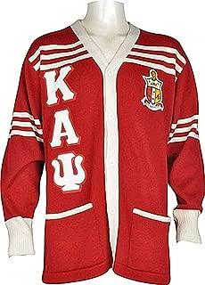 Buffalo Dallas Kappa Alpha Psi Fraternity Mens Cardigan Sweater