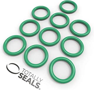 5mm x 2mm 9mm OD Silicone VMQ Rubber O-Rings 55A Shore Hardness Pack of 10
