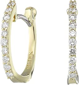 Perfect Diamond Huggy Earrings
