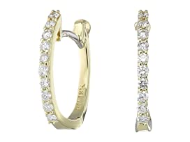 Perfect Diamond Huggy Earrings