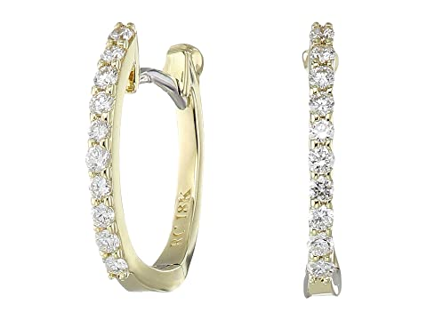 Roberto Coin Perfect Diamond Huggy Earrings