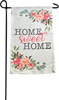 Garden Flag - Home Sweet Home Double Sided Decorative Flags for Outdoors - Weather Tested and Fade Resistant USA Designed - Best for Party Yard and Home Outdoor Decor - 12x18 inches