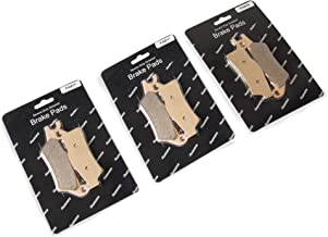 3 Sets Front and Rear Sintered Metal Severe Duty Brake Pads for Can-Am Outlander (For Can-Am Outlander)