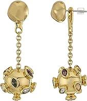Sputnik Chain Ear Jacket Earrings