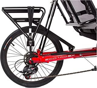 Sun Seeker Recumbent Rear Carrier Bike Rack Rr Sun Skr Eco-tad Aly Bk