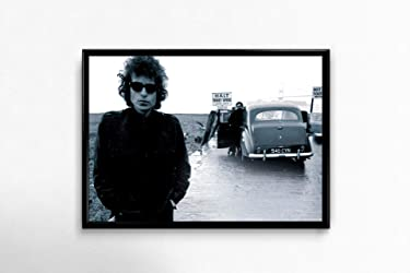 Bob Dylan Poster Bob Dylan Wall Poster Bob Dylan Art Home Decor Bob Dylan Music Print Bob Dylan Design Music Gift Medium (18x24)