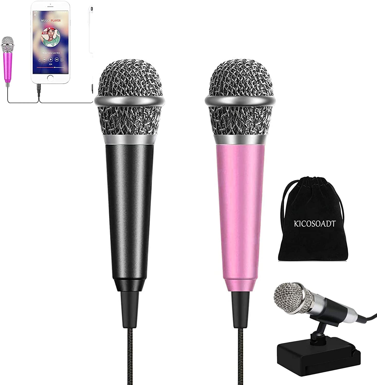 Mini microphone Max 49% OFF unisex Karaoke Microphone ASMR Mic,Mini