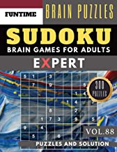 SUDOKU Expert: Huge 300 SUDOKU Ultimate puzzle books   sudoku hard to extreme difficulty Maths Book to Challenge Your Brain for Adult and Senior (hard ... books Vol.88) (expert SUDOKU puzzle books)