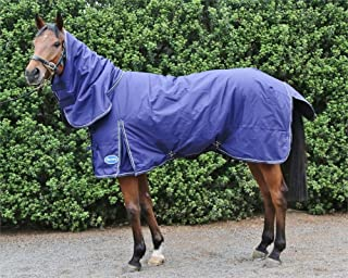 medium turnout rug with neck
