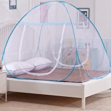 Sasimo Mosquito Net for Double Bed Home & Travel, Lightweight Pop-Up Tent for Beds (Pink OR Blue)(Mosquito net for Baby)
