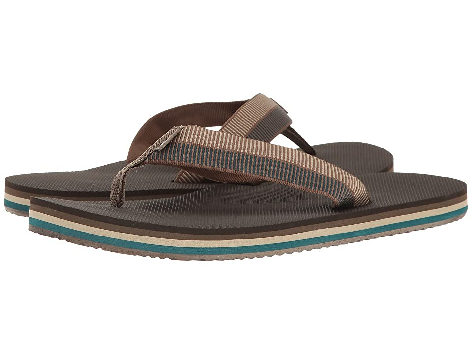 Teva Deckers Flip (Ladder Walnut) Men