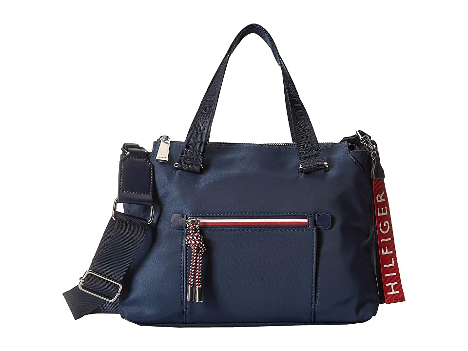 Tommy Hilfiger Lani Convertible Mini Bag (Tommy Navy) Handbags