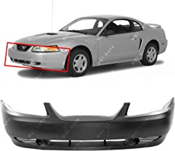 MBI AUTO - Primered, Front Bumper Cover Fascia for 1999 2000 2001 2002 2003 2004 Ford Mustang 99-04, FO1000437