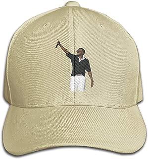 REVESS Unisex Designed Kanye Omari West Strapback Cap Funny Baseball Hats