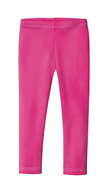 City Threads Girls' Leggings in 100% Cotton for School Uniform or Play - Made in USA!