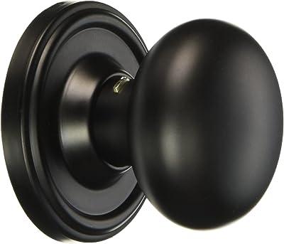 Weslock 00605I2--0020 Impresa Knob, Black