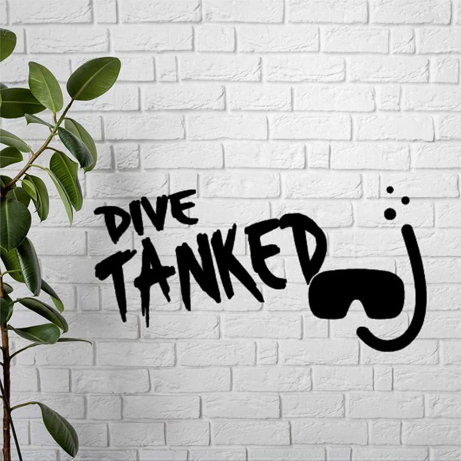godblessign Dive Tanked Metal Decor Some reservation Hanging Free shipping Wall Sign
