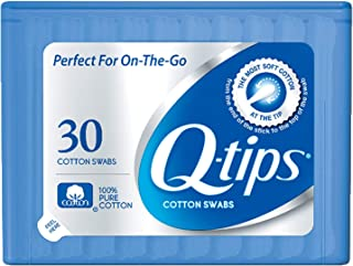 Q-tips Swabs Travel Pack,30 Count, Pack of 2