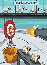 The Pug Factory - Dog Humor Birthday Greeting Card