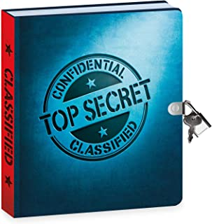 Peaceable Kingdom Top Secret Diary with Invisible Ink Pen