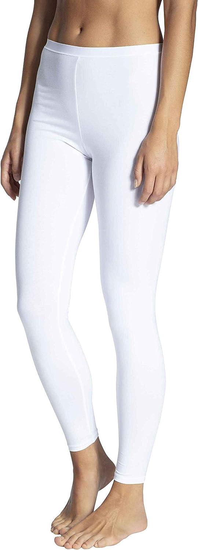 Calida Women's Natural Comfort Cotton Leggings 27175 S White