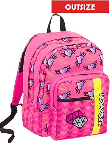 Backpack Seven OutGröße Shifty Girl Rosa