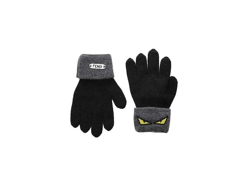 Fendi Kids - Fendi Kids Monster Eye Gloves