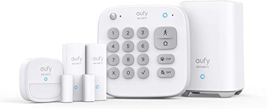 Eufy Security Home Alarm 5-Pieces Kit, White (T8990C21)