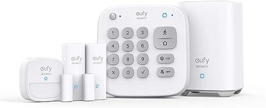 Eufy Security Home Alarm 5-Pieces Kit, White (T8990C21)
