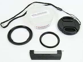 Lensmate Quick-Change Filter Adapter Kit for Canon G7X Mark III, G7X Mark II & G7X (Also fits G5X Mark II & G5X) - 52mm